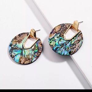 Colorful Resin Drop Earrings